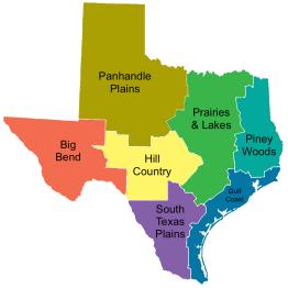 TexasRegionsLabeledMap